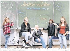 Zeitungsartikel- Sie bringen nicht nur Kunst ins Hospiz