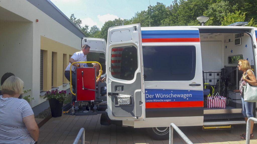 """Wünschewagen """"Noch Einmal Auf Den Brocken"""""""