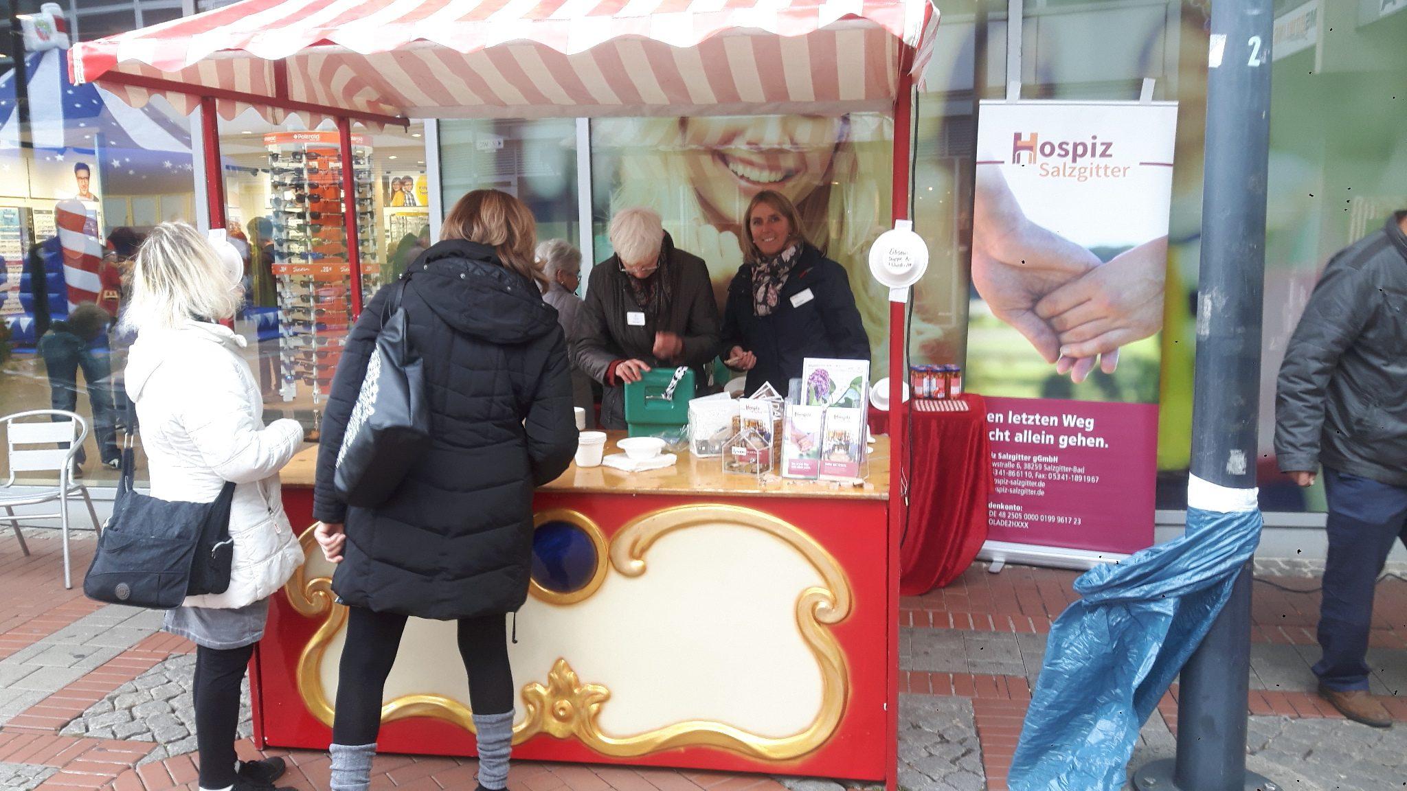 Hospiz Salzgitter Suppenverkauf