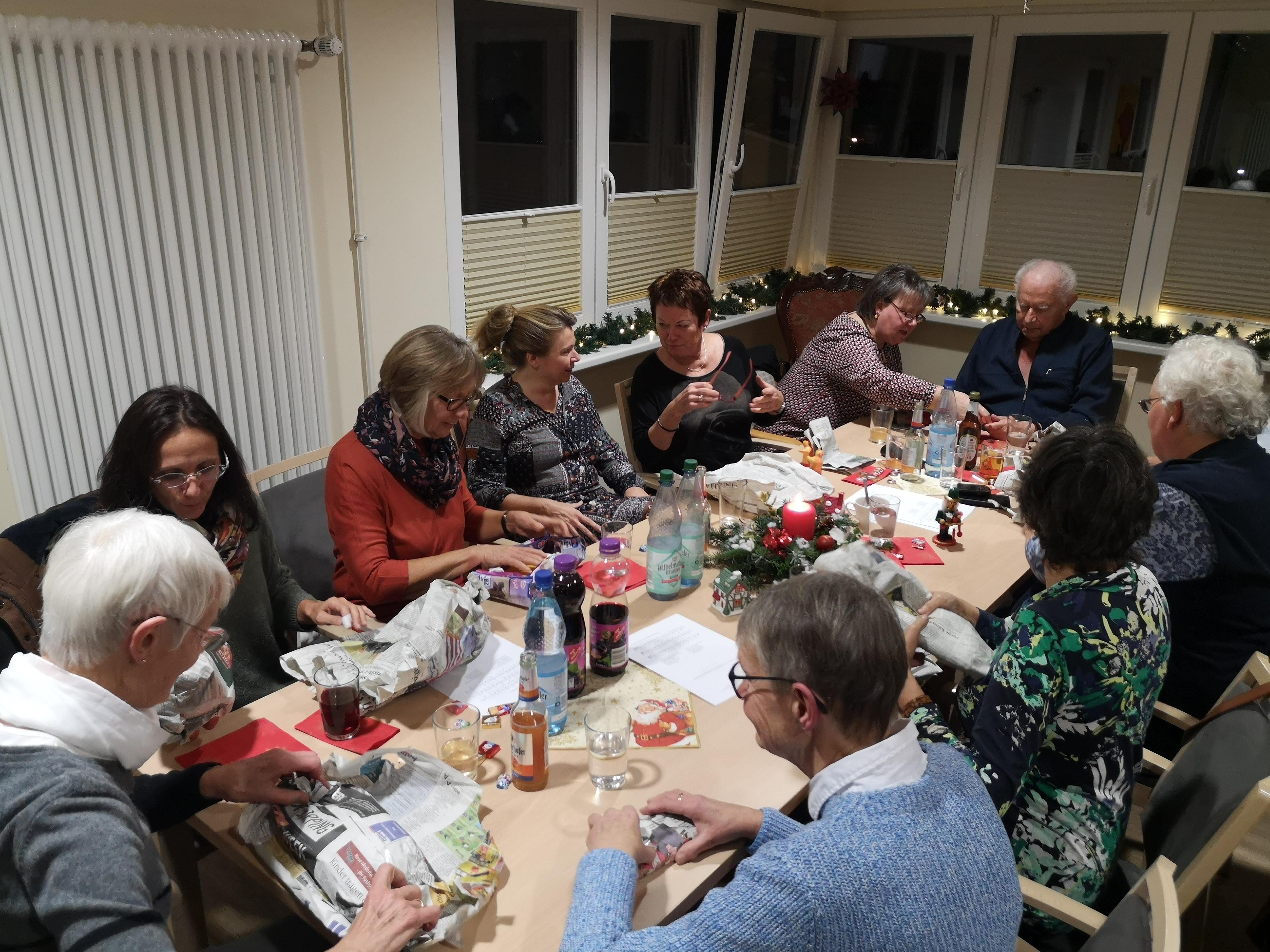 Hospiz Salzgitter Weihnachtsfeier
