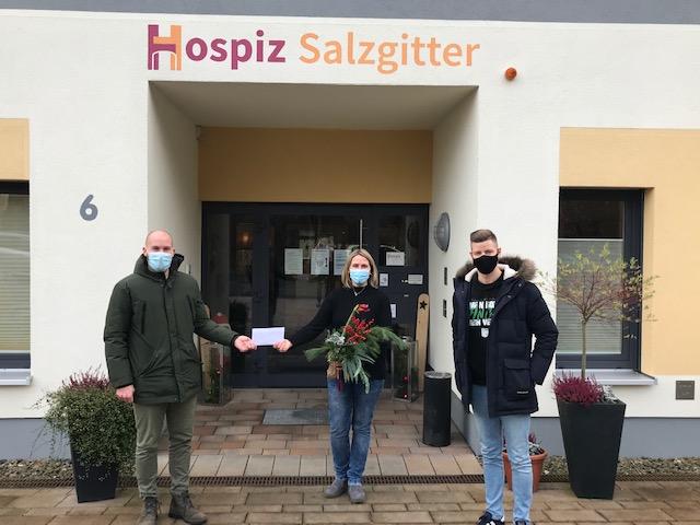 Hospiz Salzgitter - Spende vom TSV Üfingen