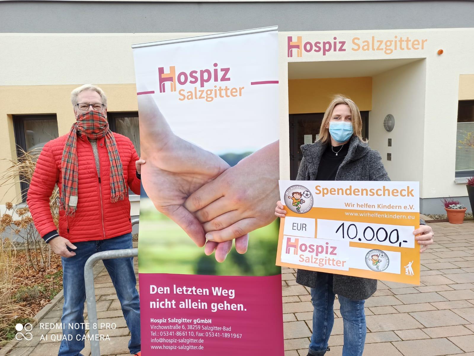 Hospiz Salzgitter - Spende Wir helfen Kindern e. V.